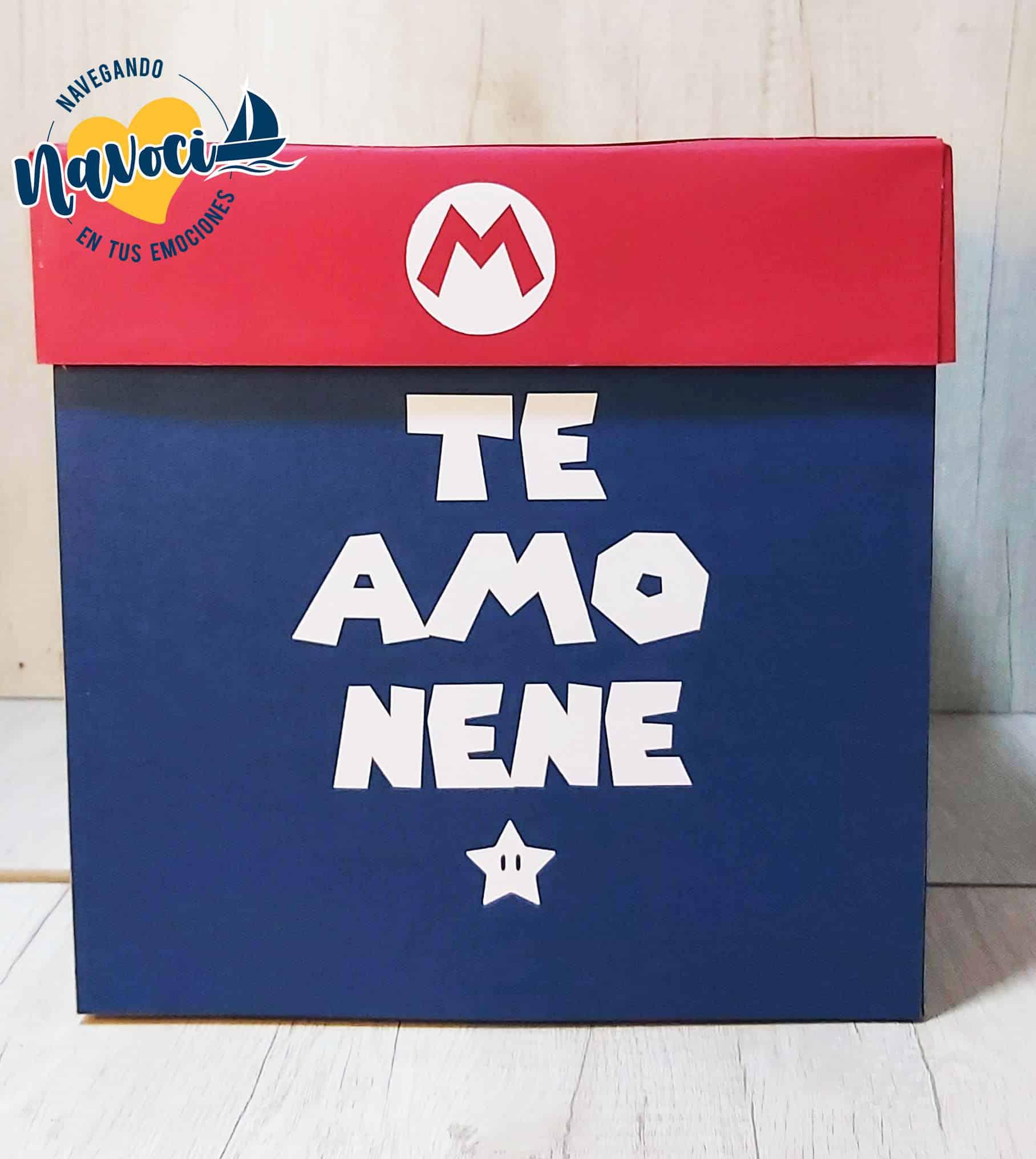 Caja Mágica Mario Bros Exterior.